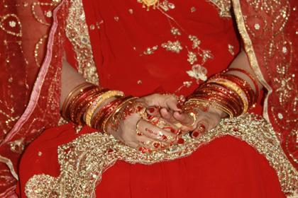 The Bride's Hands!