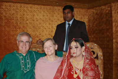 A Muslim wedding we attended in December.
