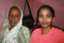 Shaheen with her Mom