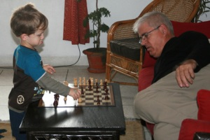 Grandpa, is this a good move?