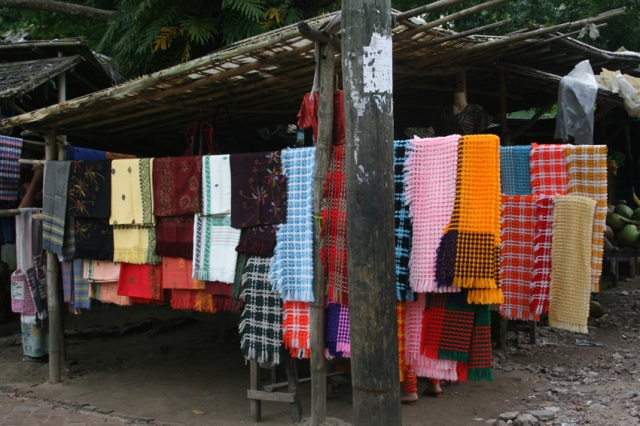 These vivid colors were at a handicraft stall in Moheshkhali, and Island in Southern Bangladesh