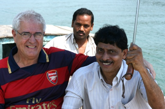 Marland (L) and Kamal (R)