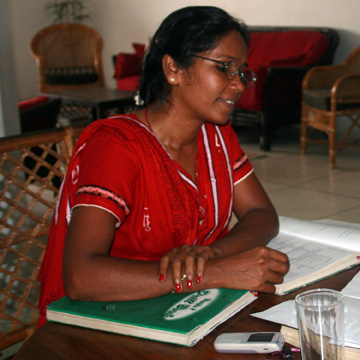 Roji (Donna) a very good tutor!