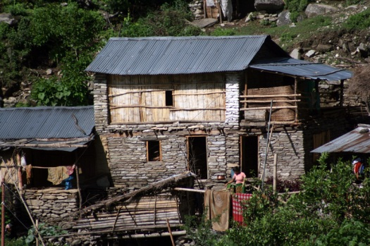 Home on a Nepali Hillside