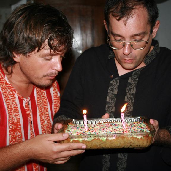 Austin (L) and Dustin (R)