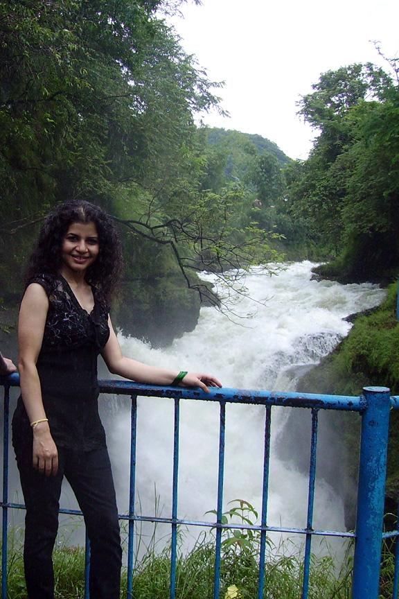 Santoshi at falls
