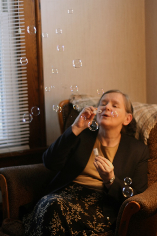Blowing Bubbles!