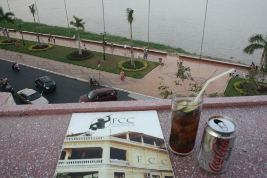 In Cambodia I had to switch from Diet Pepsi to Diet Coke!