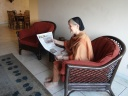 One of the Daily Star's avid readers!