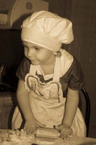 Cutest Cook Award goes to Chayla!