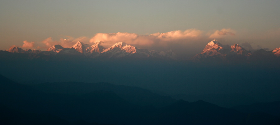 Darjeeling, India Mountain View