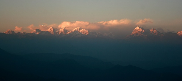 Darjeeling, India Mountain View