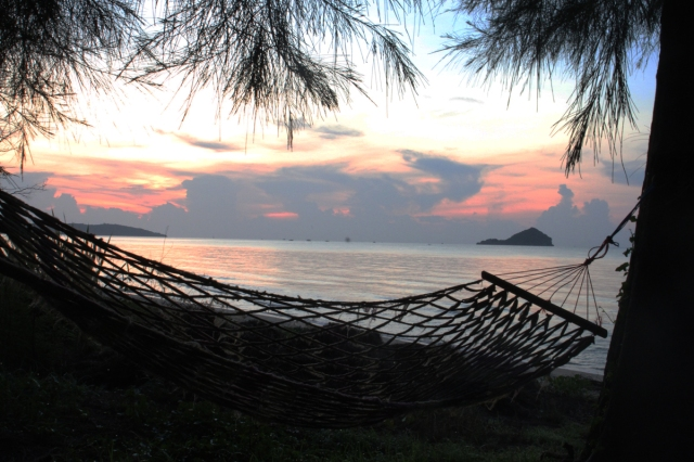Hammock At Sunrise