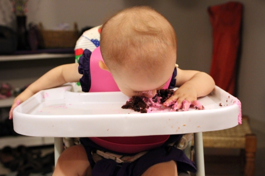 Gettin' Into the Cake!