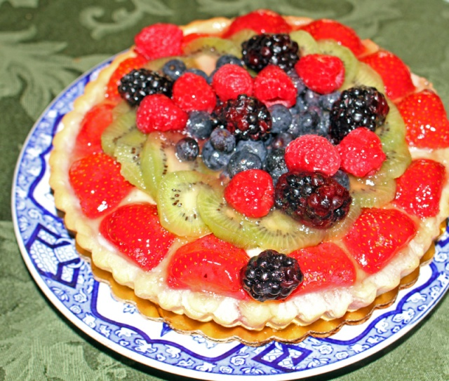 Fruit Cheesecake
